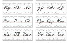 Cursive Alphabet Gallery