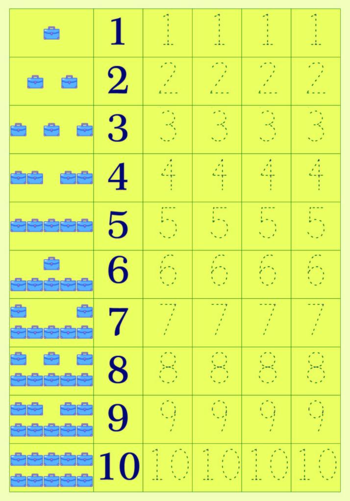 5 Best Printable Number 5 Tracing Worksheets   Printablee