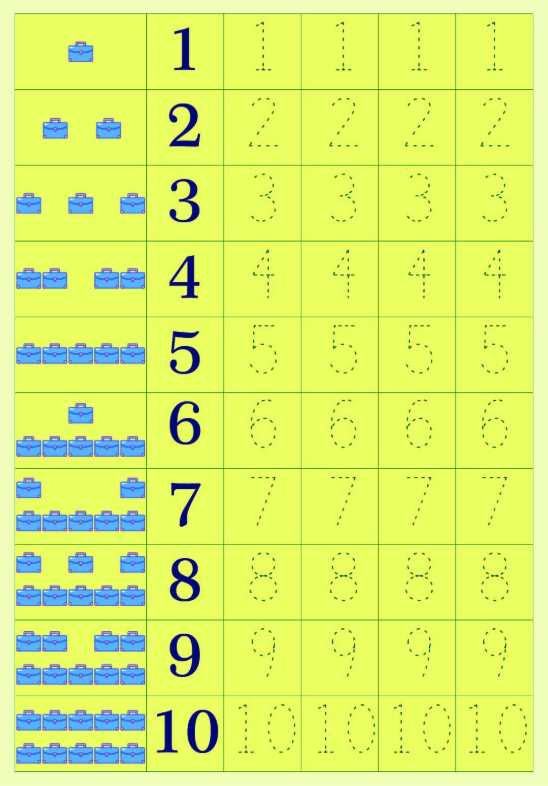 5 Best Printable Number 5 Tracing Worksheets - Printablee