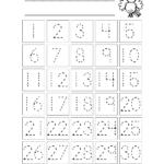 5 Best Printable Trace Numbers 1 100   Printablee