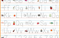 Alphabet Handwriting Worksheets Free