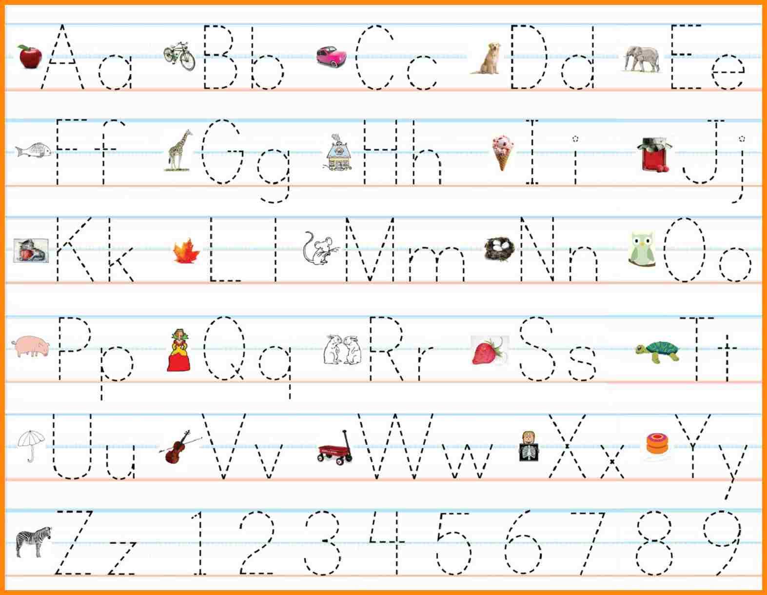 60 Marvelous Name Writing Practice Preschool Handwriting inside Alphabet Handwriting Worksheets Free