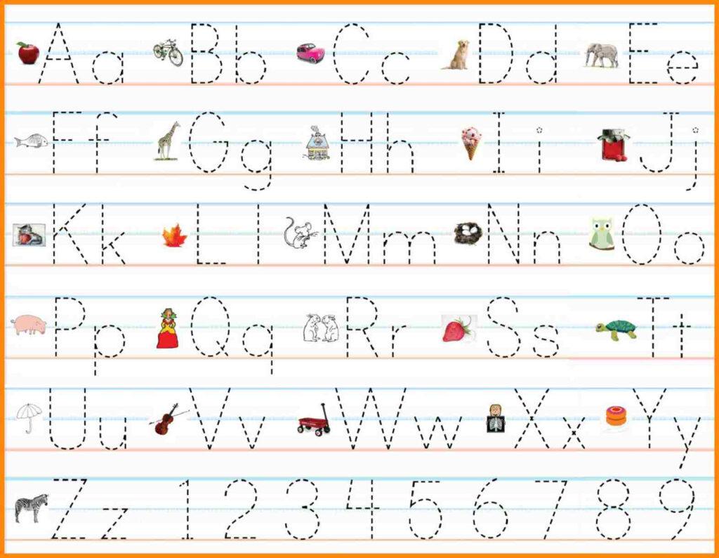 60 Marvelous Name Writing Practice Preschool Handwriting Pertaining To Alphabet Handwriting Worksheets For Preschool