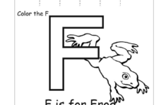 Letter F Worksheets Free Printable