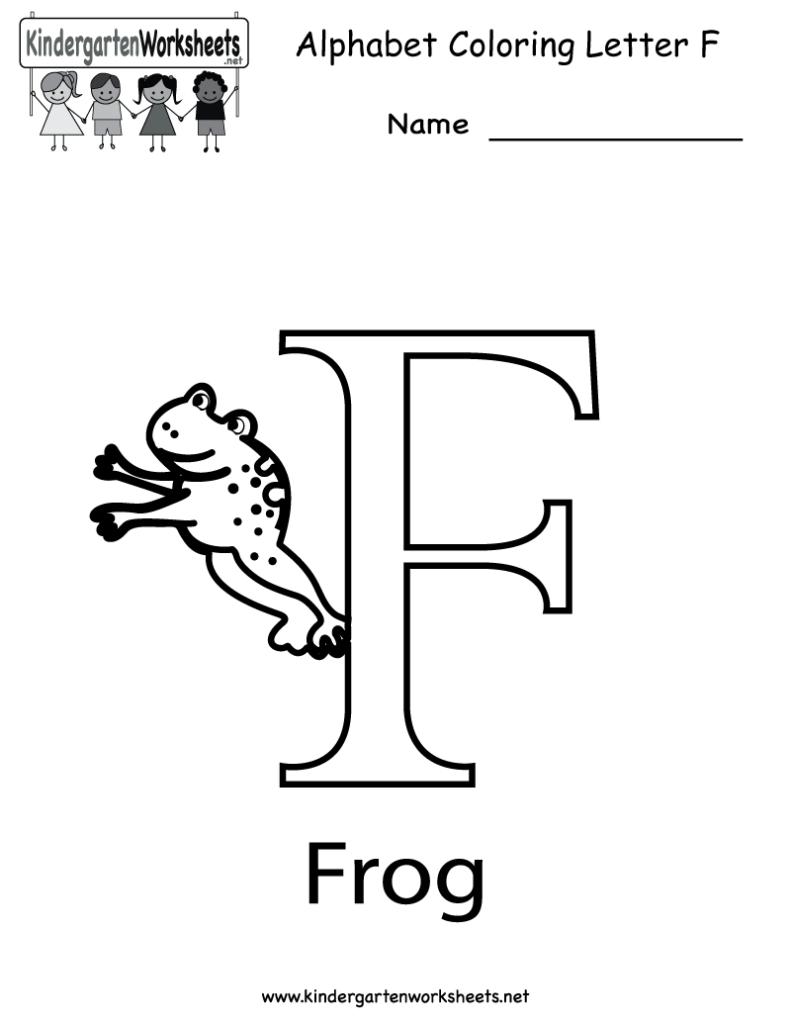 8 Best Free Printable Alphabet Worksheets Letter F Throughout Letter F Worksheets Free Printable