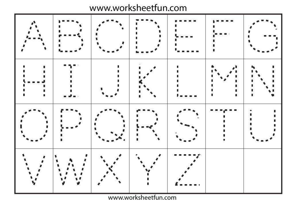8 Best Images Of Printable Traceable Alphabet Worksheets Regarding Abc Tracing Kindergarten