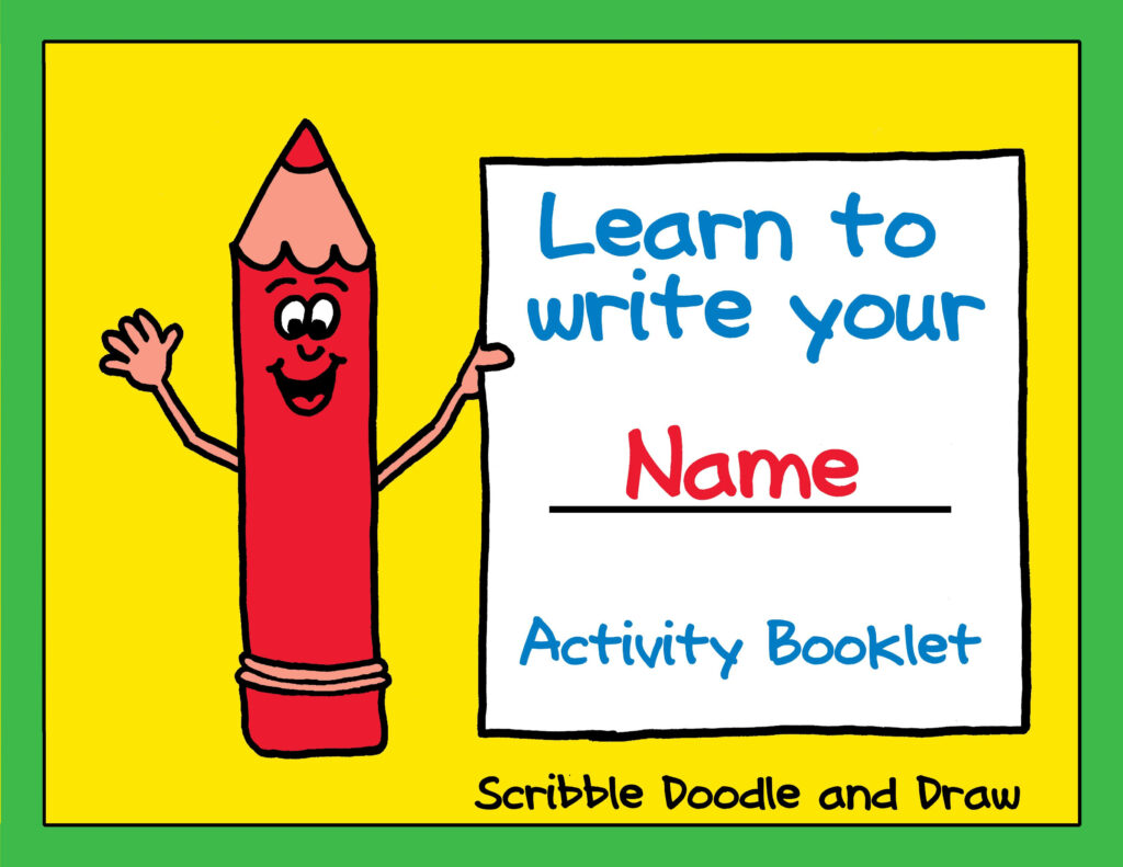 A Fun Booklet For Kids To Practice Printing Their Name Intended For Name Tracing Booklet