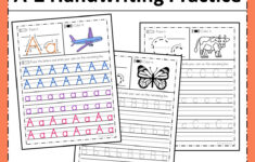 Alphabet Worksheets A-Z Printable