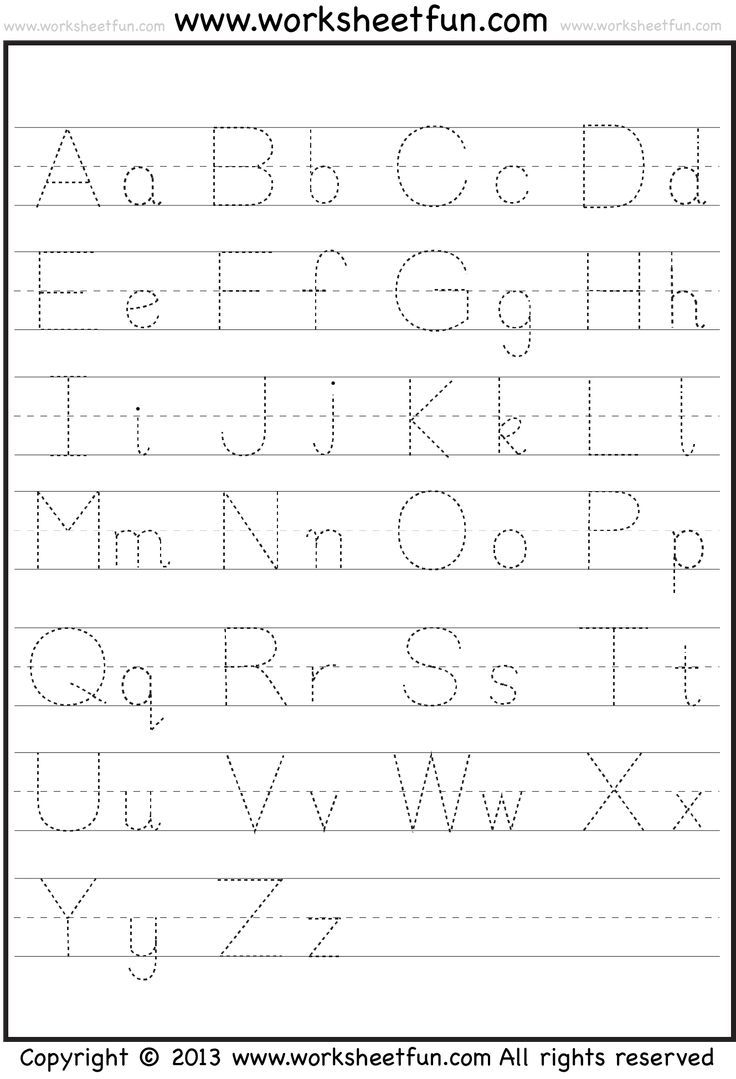 Abc & 123 Tracking Pages For Letters & Numbers | Letter regarding Abc 123 Tracing Pages