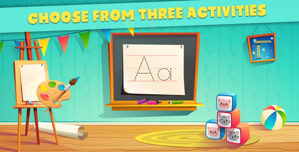 Abc Tracing For Kids Free Games For Android   Apk Download In Abc Tracing Mod Apk