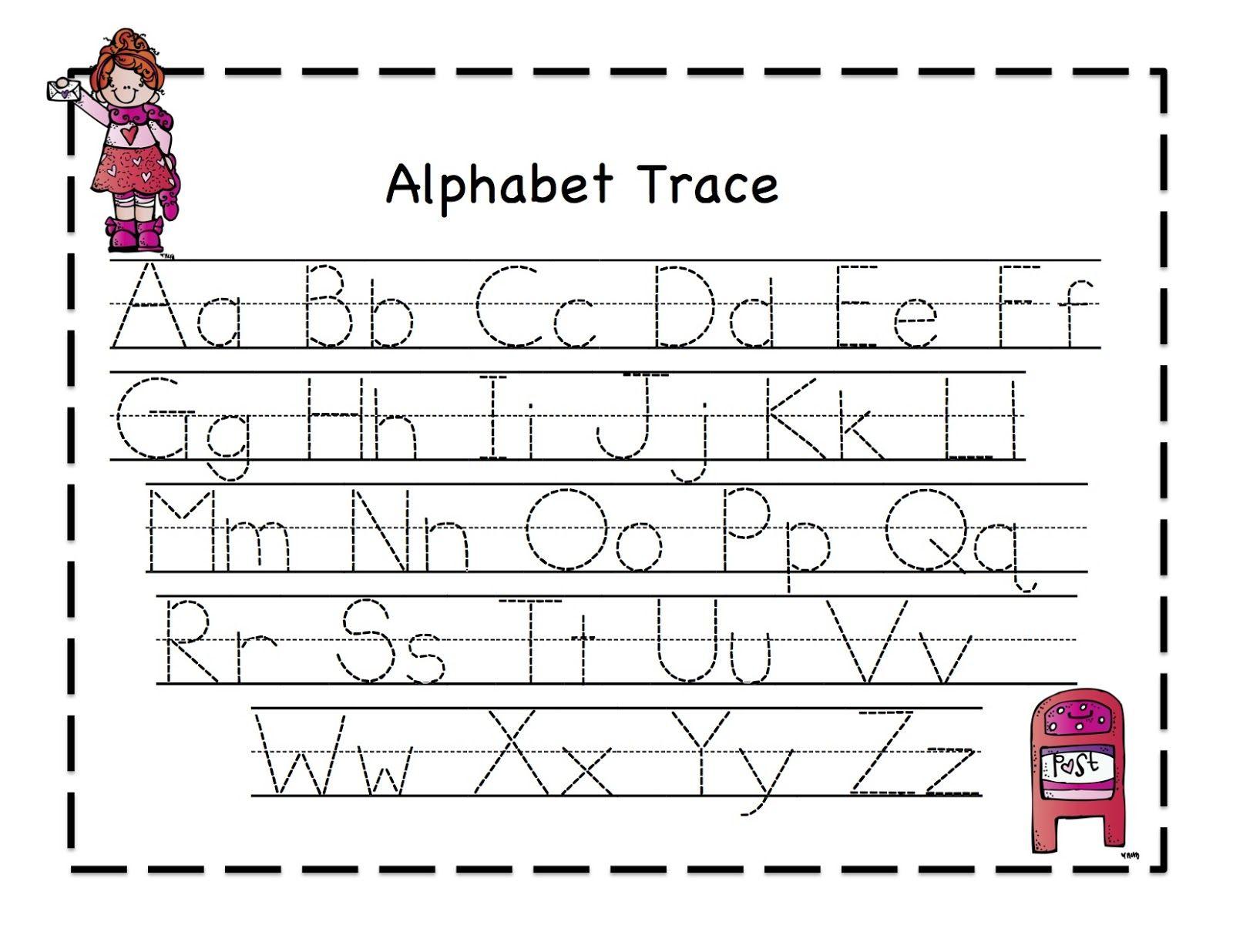 Abc Tracing Sheets For Preschool Kids   Alphabet Tracing in Alphabet Tracing Toddler