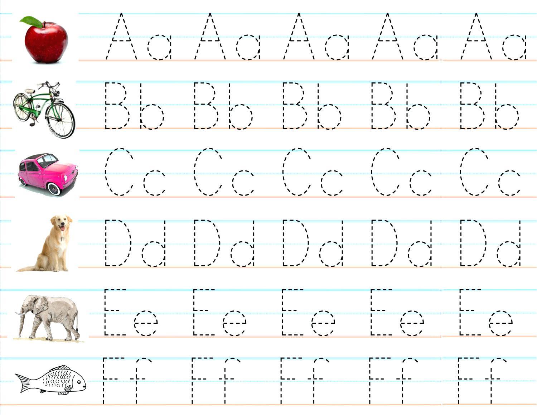 Abc Tracing Worksheets Pdf   Printable Worksheets And