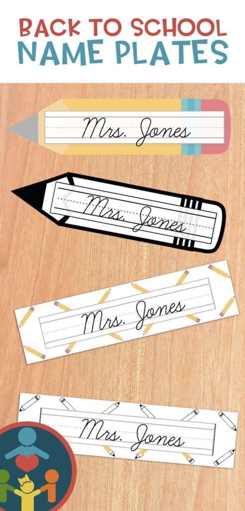 Adorable Name Plates! (Editable Too) | Teaching Resources