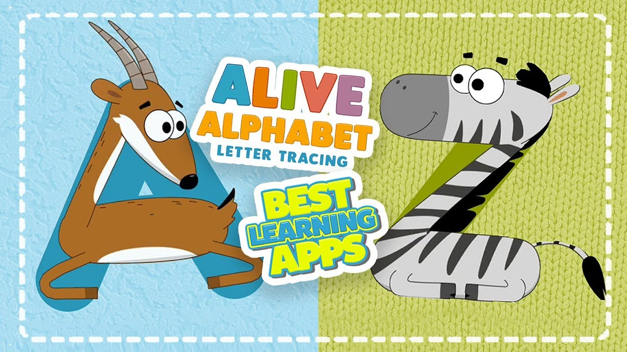 Alive Alphabet: Letter Tracing Animal Abc | Best Educational App For Kids in Abc Tracing Youtube