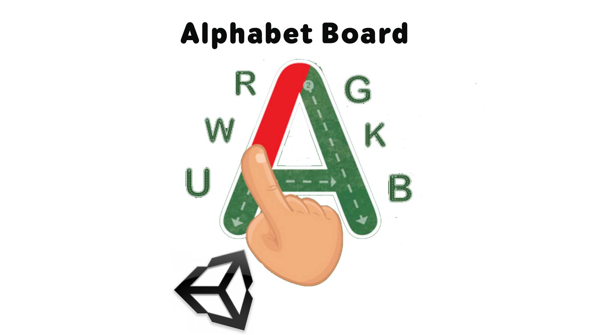 Alphabet Board Unity3D Project in Alphabet Tracing Unity