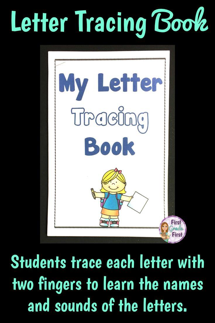 Alphabet Tracing Book | Elementary Reading, Learning Letters with Alphabet Tracing Book Jan Richardson