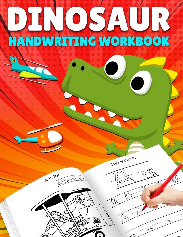 Alphabet Tracing: Letter Tracing: Dinosaur Handwriting throughout Alphabet Tracing Book Walmart