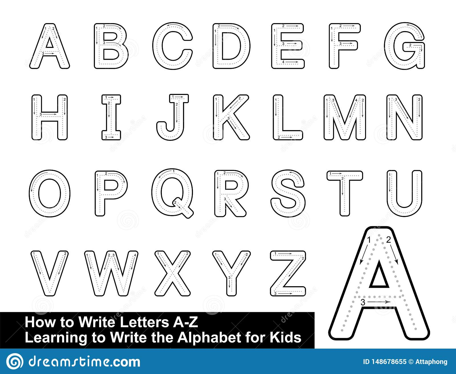 Alphabet Tracing Letters Stepstep Letter Tracing Write within Alphabet Tracing Letters