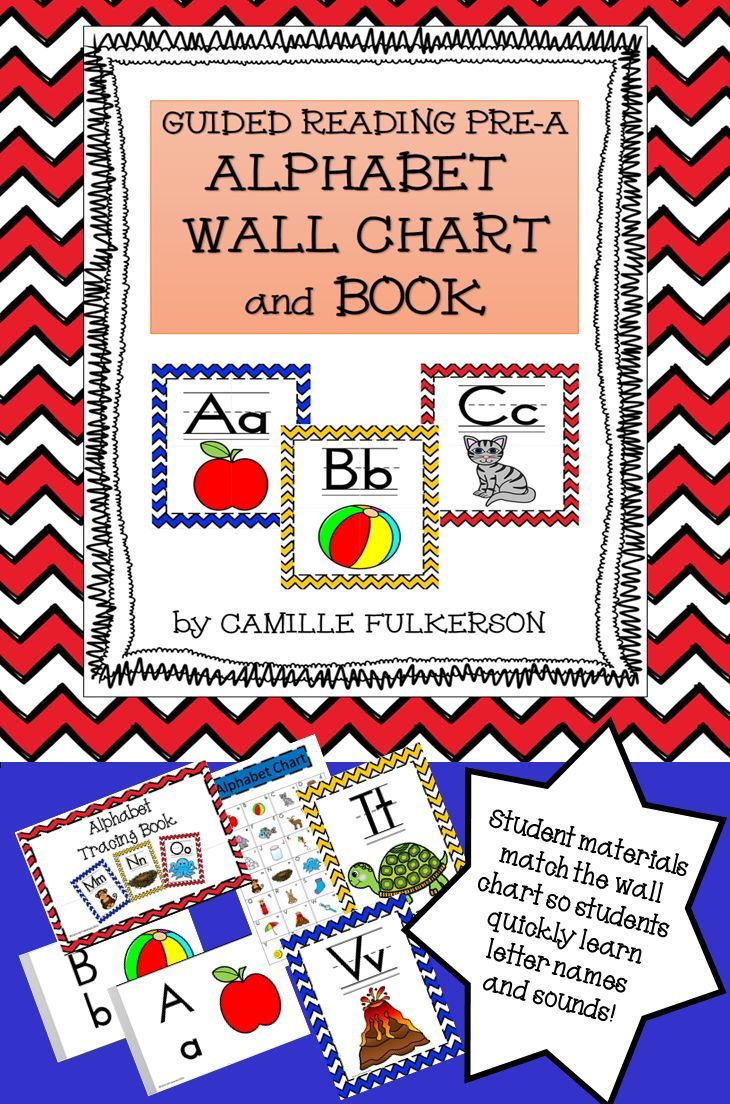 Alphabet Wall Chart And Tracing Book For Guided Reading pertaining to Alphabet Tracing Book Jan Richardson