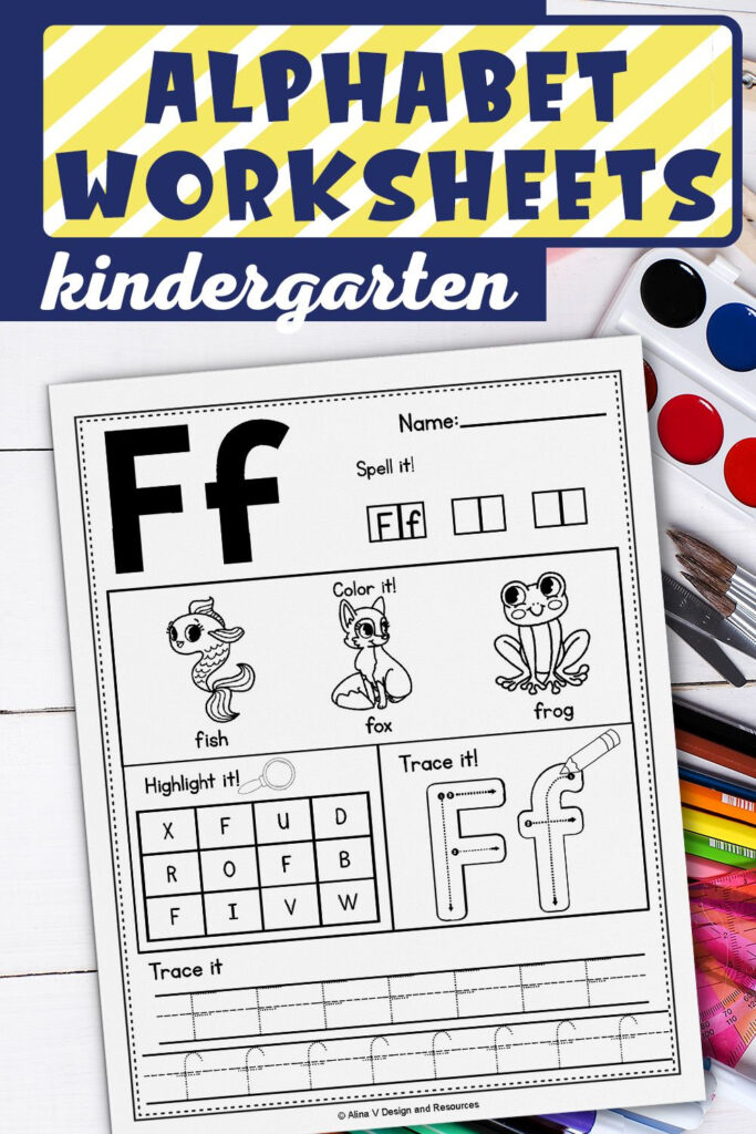 Alphabet Worksheets A Z, Alphabet Tracing, Letter In Letter Tracing Resources