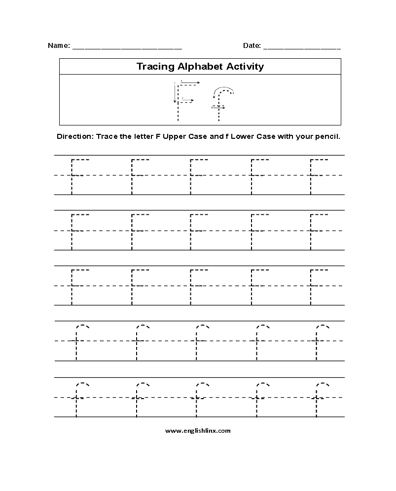 Alphabet Worksheets | Tracing Alphabet Worksheets with regard to Letter T Tracing Page