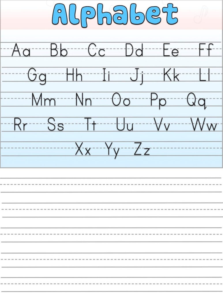 Alphabet Writing Practice Sheet Free Worksheets Pdf Download With Alphabet Tracing Worksheets Pdf Download