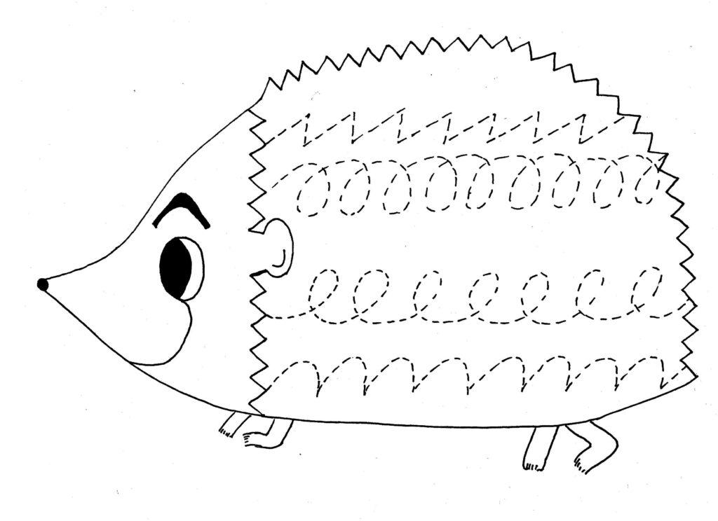 Animals Trace Line Worksheet For Kids | Tracing Worksheets