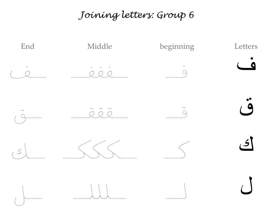 Arabic Alphabet Pdf   Arabic Alphabet Online حروف العربية