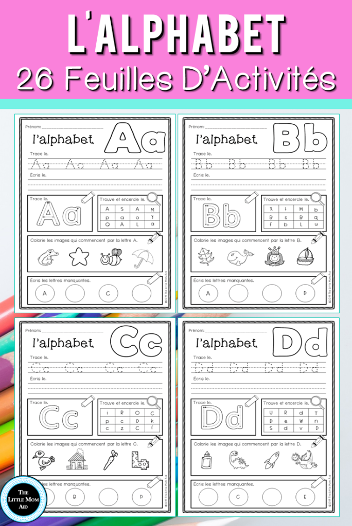 Are You Looking For French Alphabet Worksheets To Reinforce With Alphabet Worksheets In French