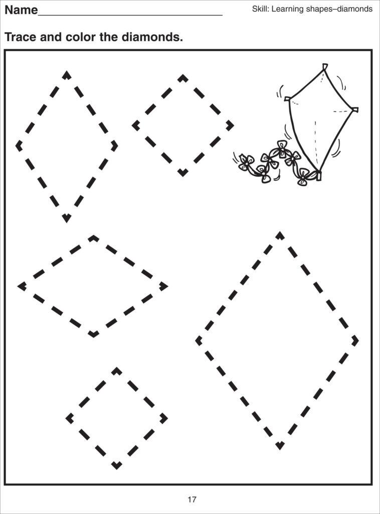 Basic Shapes Worksheets For Kids | Kiddo Shelter | Free