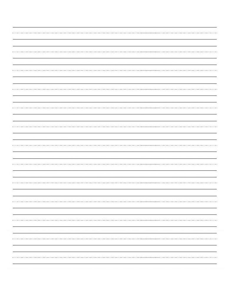 Blank Lines For Letter Practice | Cursive Writing Worksheets Inside Name Tracing Worksheet With Blank Lines