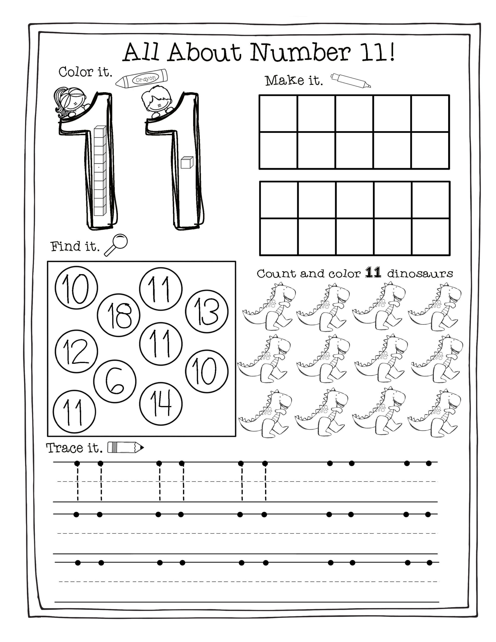 Building The Numbers 11-20 {Free Printables!} | Numbers