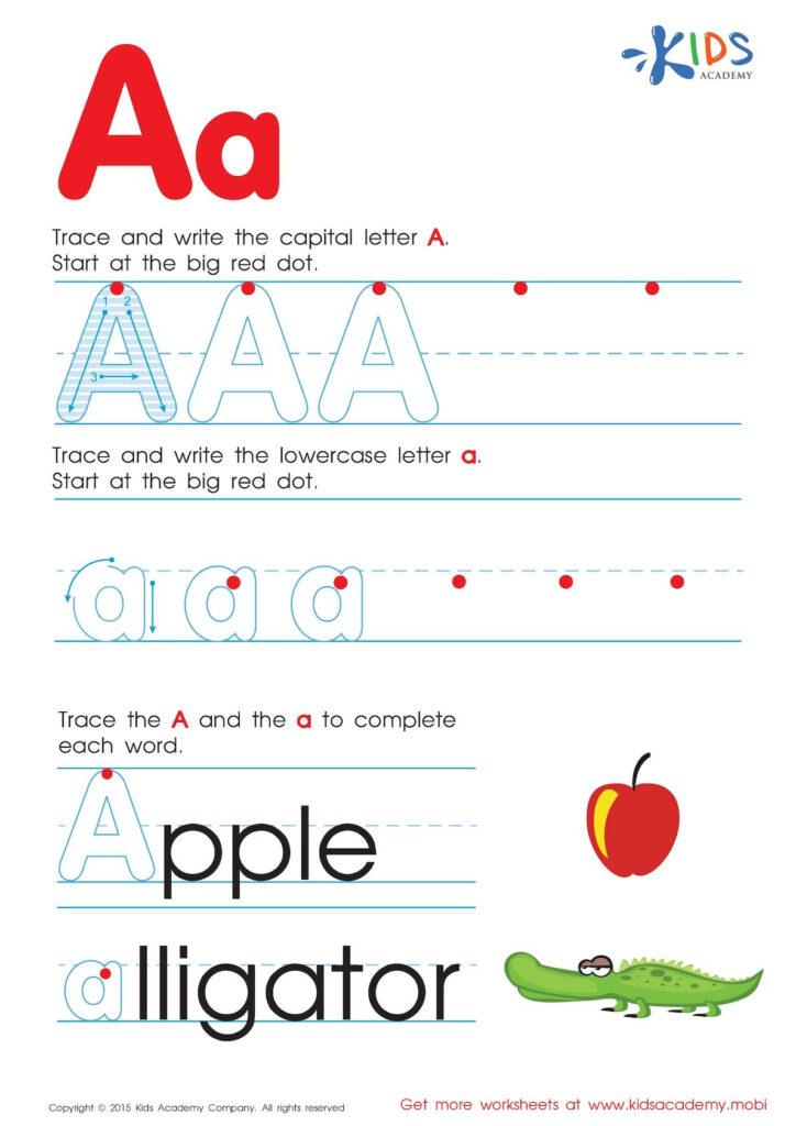 Calaméo   Free Alphabet Worksheets For Kids A Z With Regard To Alphabet Worksheets A Z Free