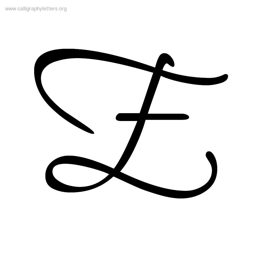 Calligraphy-Letter-E (1024×1024) | Lettering Styles