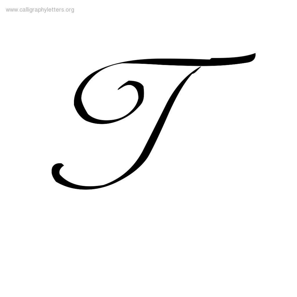 Capital; T Cursive - Google Search | Cursive Letters