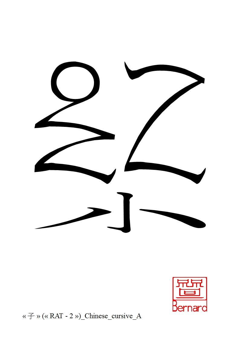 Ch-A-Zodiac-2-Cursivethathankabernard59 On Deviantart