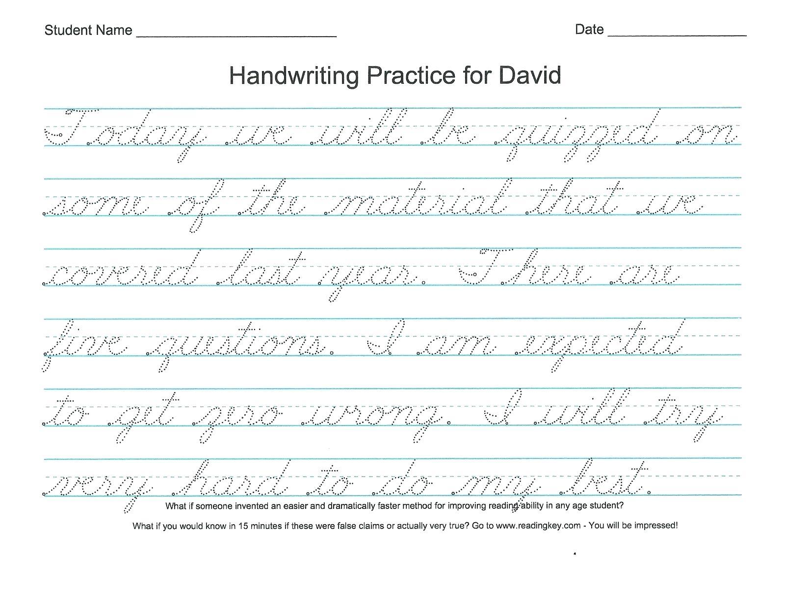 Coloring Book Cursive Writing Handwriting Worksheets 3Rd