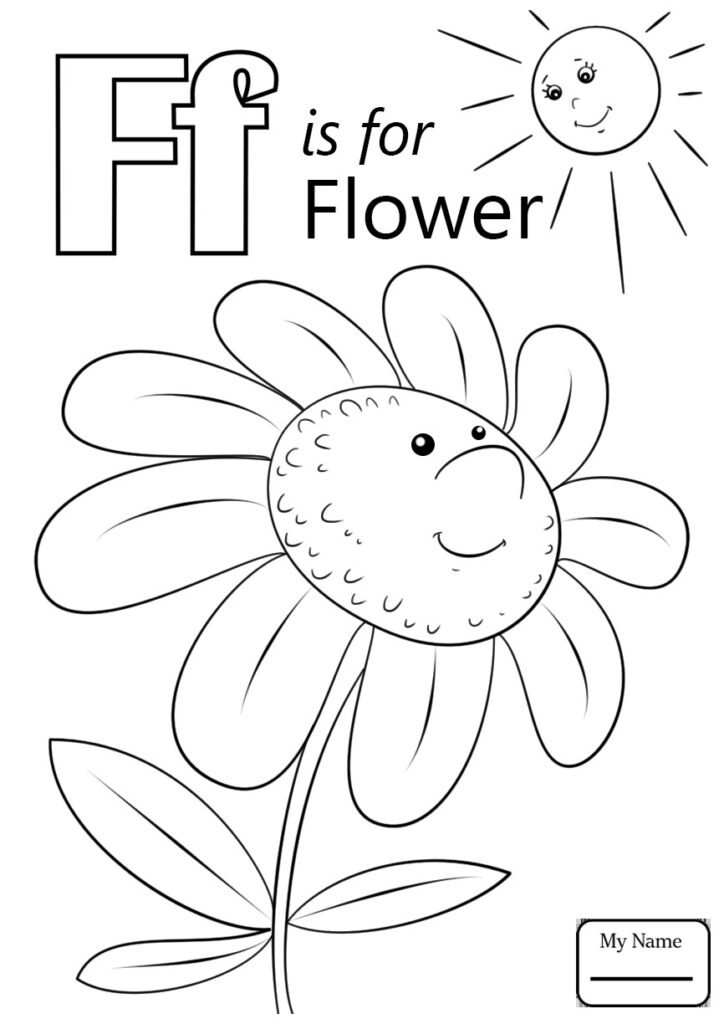 Coloring ~ Letterring Page Word Search The Worksheets Big Pertaining To Letter F Worksheets Coloring Page