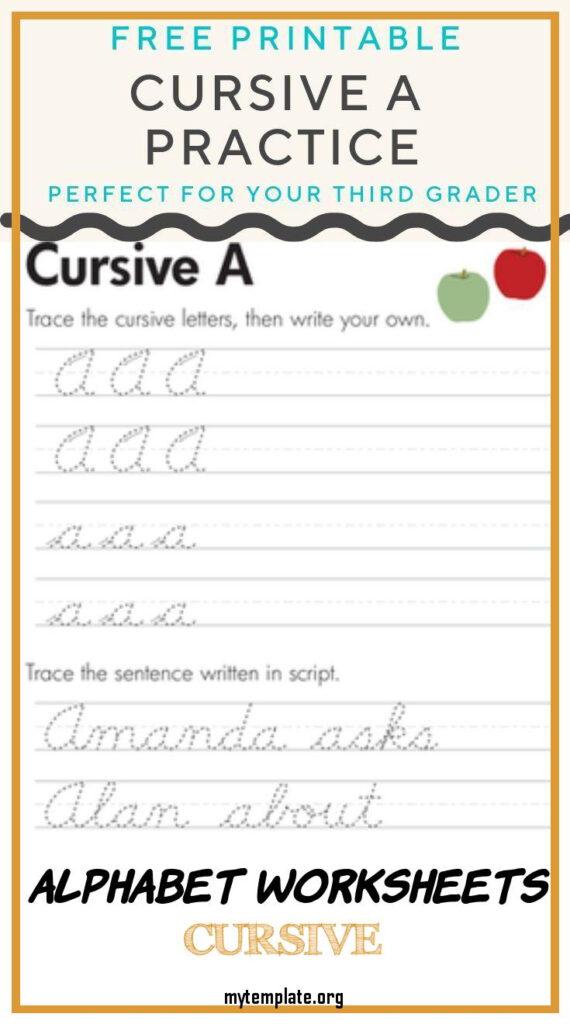 Coloring Pages : Coloring Pagesable Cursive Alphabet