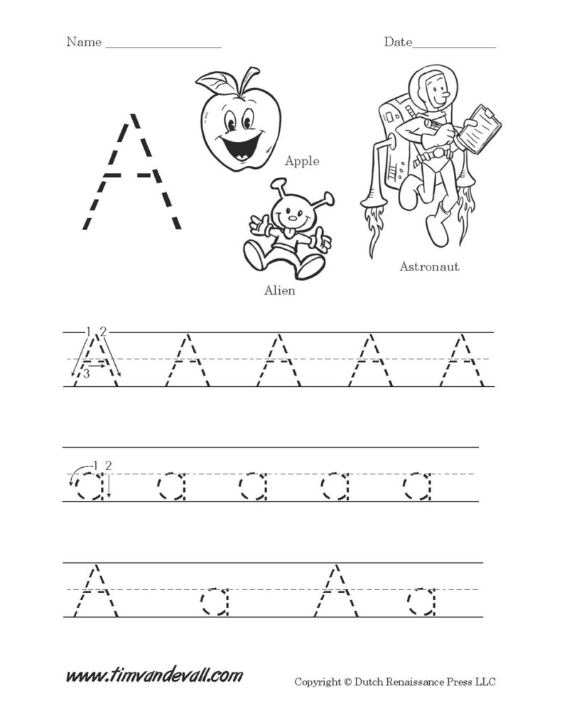 Copy Of Aa   Lessons   Tes Teach Within Alphabet Worksheets Tes