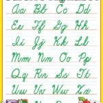 Cursive Alphabet Friendly Chart   Cursive Alphabet, Cursive