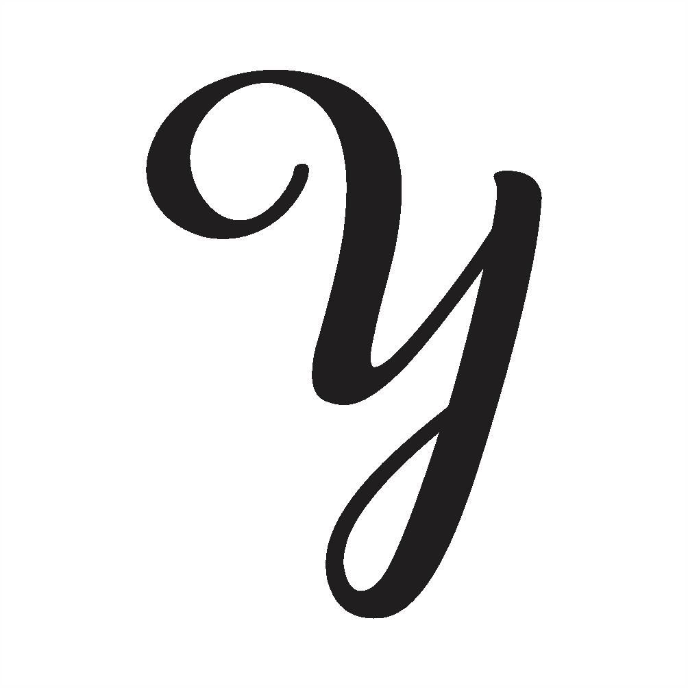Cursive Capital Y – Psfont Tk