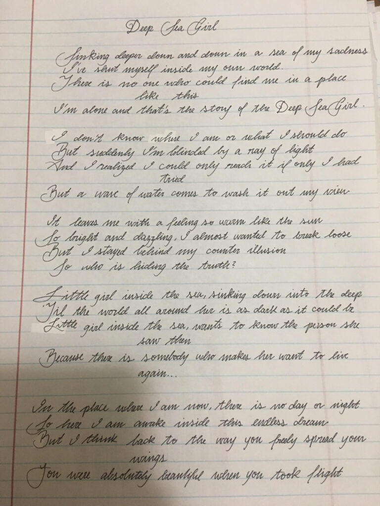 Cursive Help/tips Please? : Handwriting