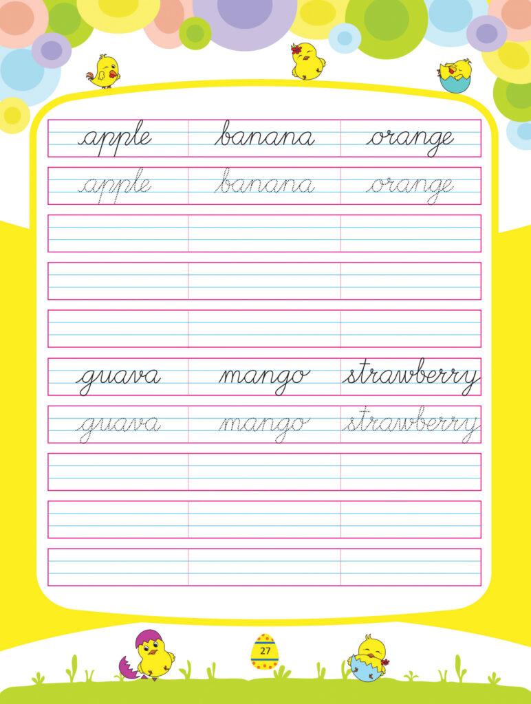 Cursive Writing Book 2