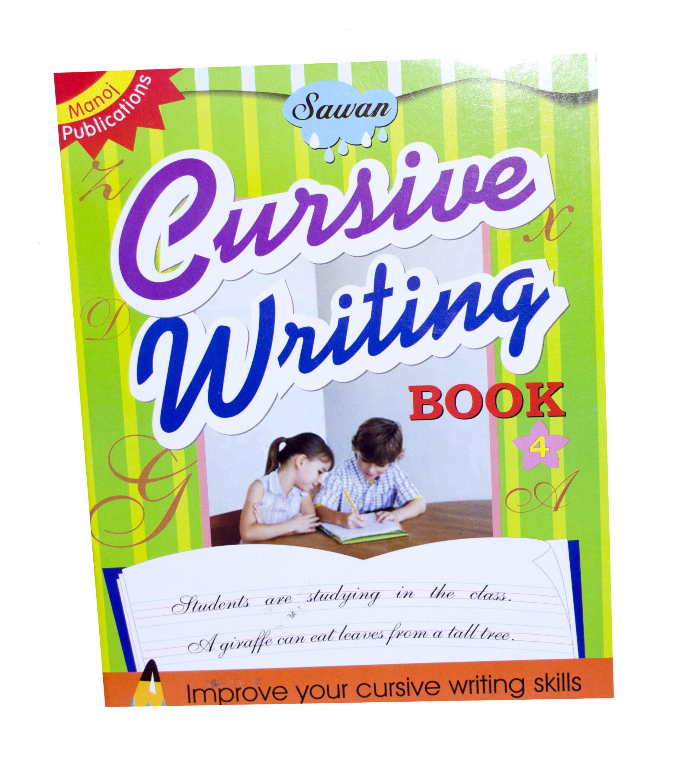 Cursive Writing Book 4