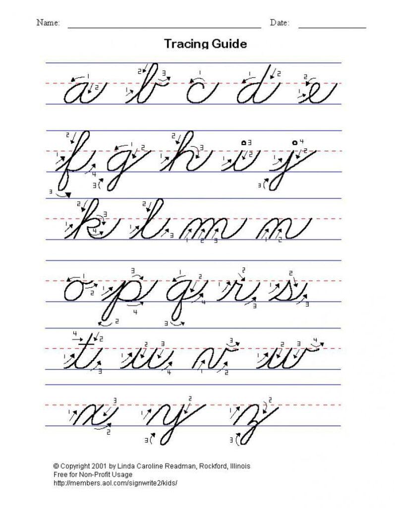 Cursive Writing Converter