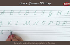 Cursive Alphabet In English