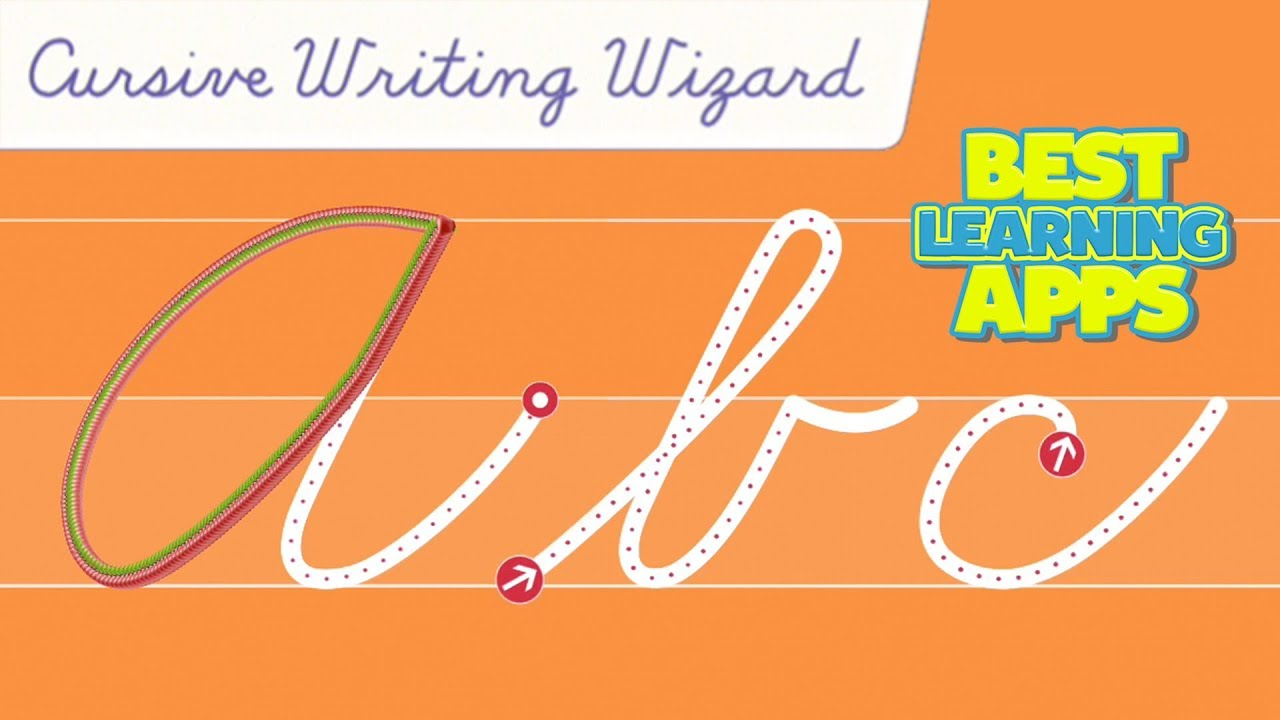 Cursive Writing Wizard A To Z - Best Letter School App For Kids