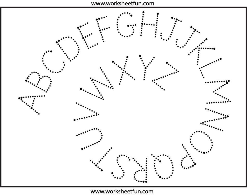 Cursive Writing Worksheets Montessori Printable And Alphabet