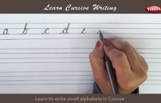 Alphabet P In Cursive Writing